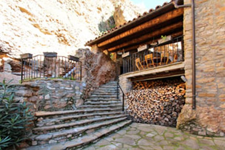 Lovely house in rustic village - Rivert  - Casa