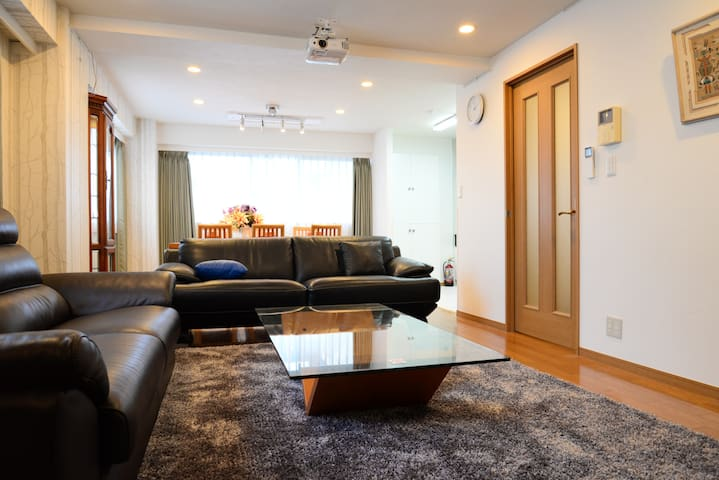 Fujisawa Kamakura Suite 120inchBig screen 4min - Fujisawa-shi - Apartamento