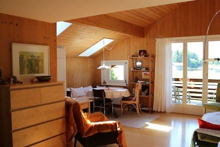 Gemütliche Dachwohnung mit toller Aussicht
