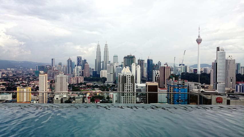 Private Studio on High Floor with Wifi in KL City - Kuala Lumpur - Apartment
