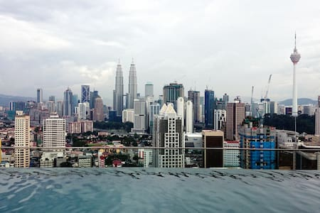 Private Studio on High Floor with Wifi in KL City - Kuala Lumpur