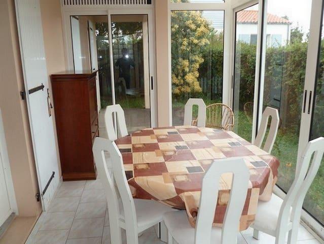 Maison calme et confortable - Brem-sur-Mer - Casa