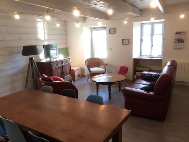 Maison au coeur d'un village de paludier - Batz-sur-Mer - Maison