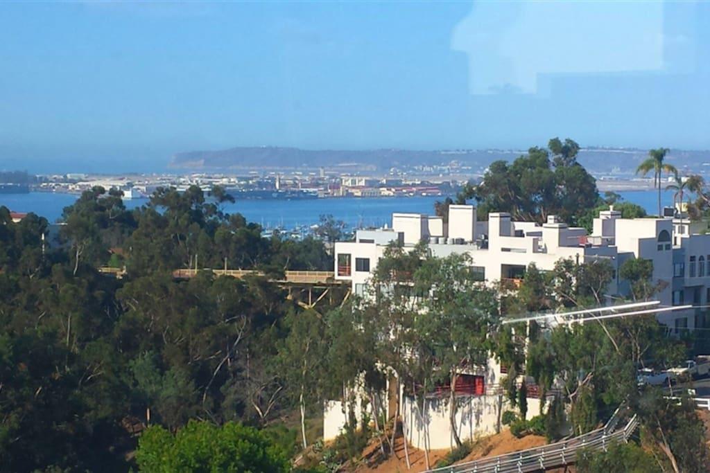 San Diego bay views