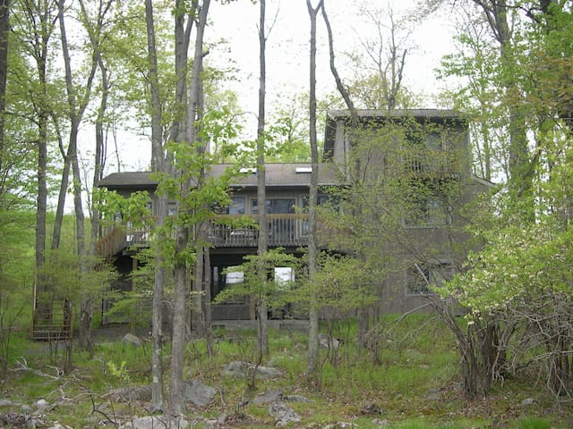 Treehouse Overlooking Lake Natalie
