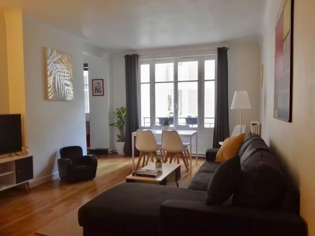 Paris 16, Trocadero, appartment 60 m2, 2 bedrooms