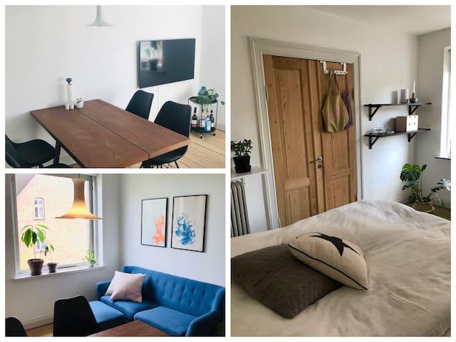 Lejlighed i øgadekvarteret i hjertet af Århus C