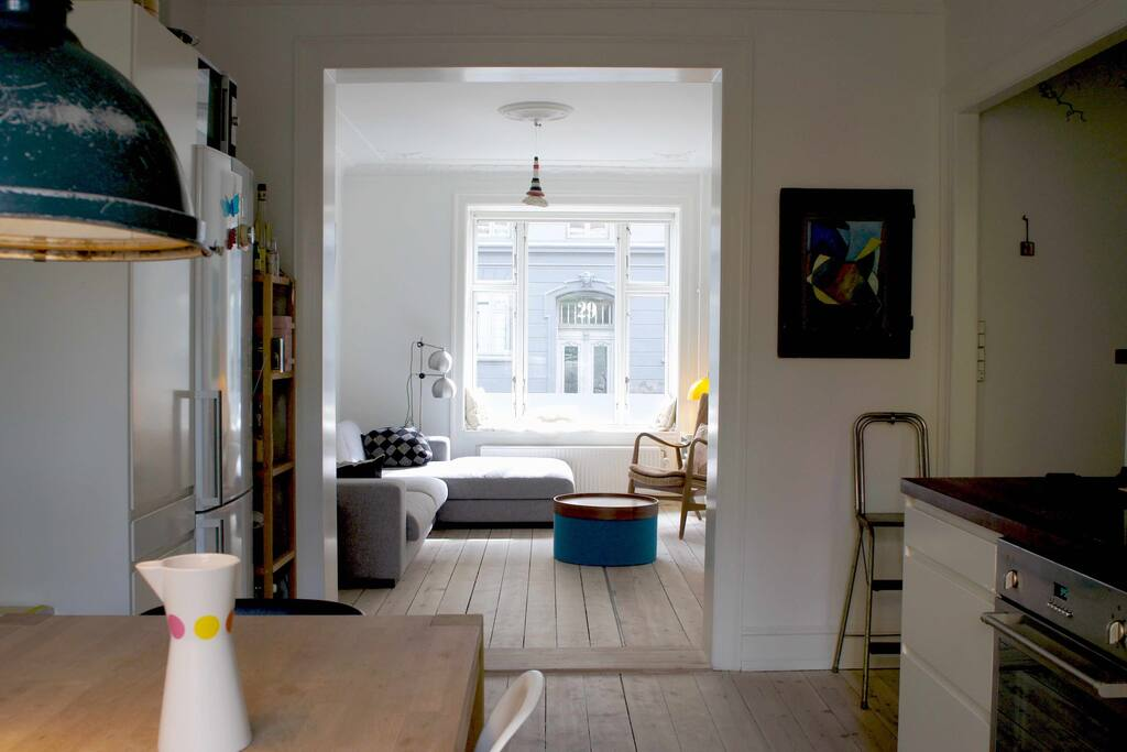 Kitchen + livingroom