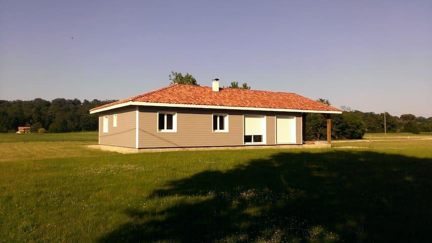 Maison bois - Eyres-Moncube
