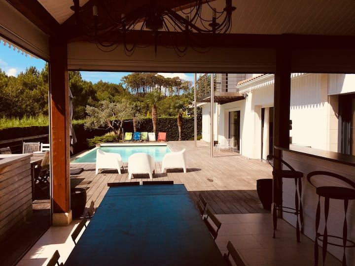 Large and luxurious villa Golf d'Arcachon