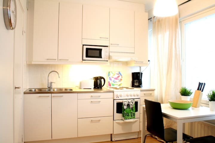 Studio apartment in Vaasa, Vaasanpuistikko 6