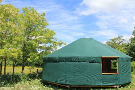 Luxurious Yurt near Guedelon - Batilly-en-Puisaye - Tenda