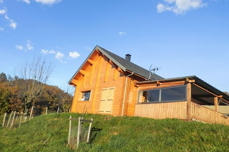 Enchanting chalet near Lot River - Espalion - Dağ Evi