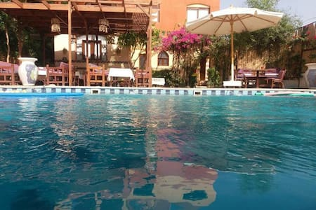 Nile Compound Luxor - Double Room B&B
