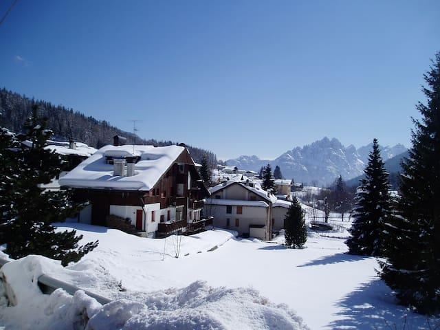 App.to terrazzo vista montecivetta - Mareson-Pecol