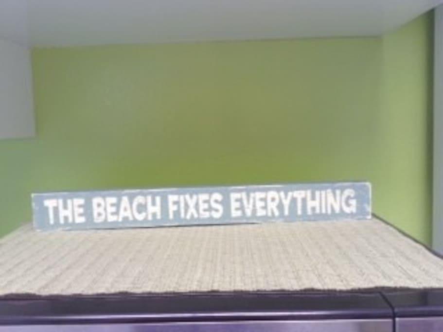 Beach fix