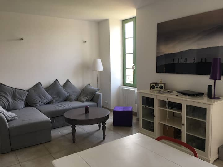 Appartement 56 m2 au centre de Ruoms et au calme