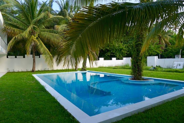Apto hermoso en Zona Diamante -Alberca y Jardín #4