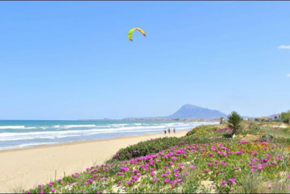 Beautiful Denia Deveses pristine water beach
