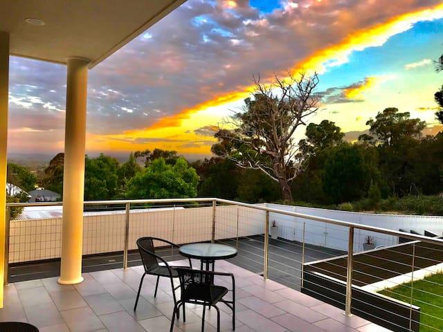 Sunset Balcony