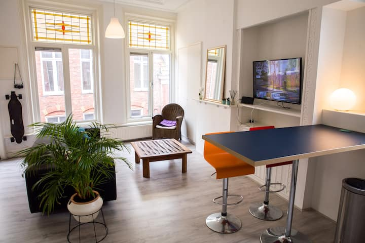 Comfortable apartment in the heart of Groningen