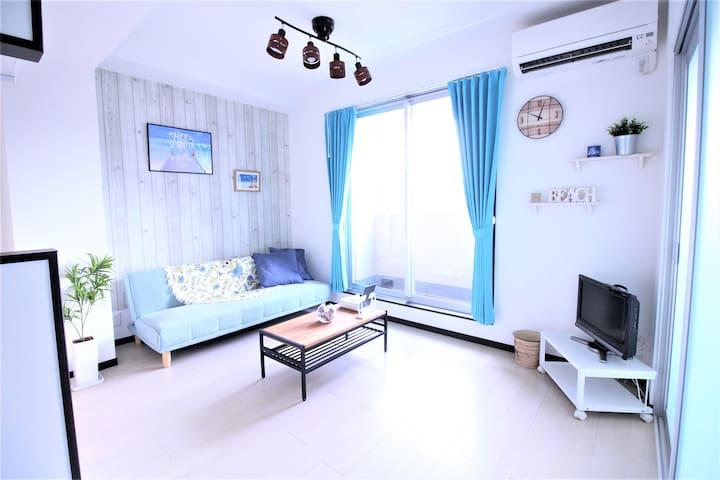New apartment! Clean! Free WIFI! close to Namba