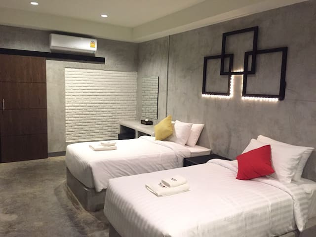 The Loft at Chiangrai : Single bed R.2 - Mueang Chiang Rai - Apartament
