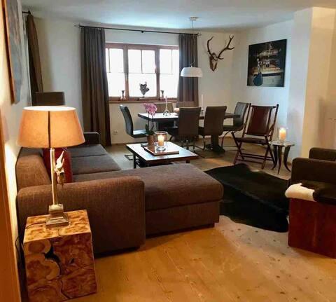 Luxury ski-in/ski-out apartment