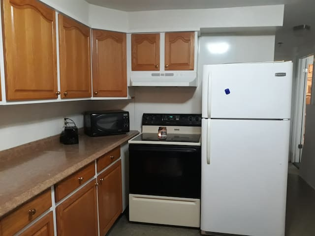 Kitchen  across from entryway