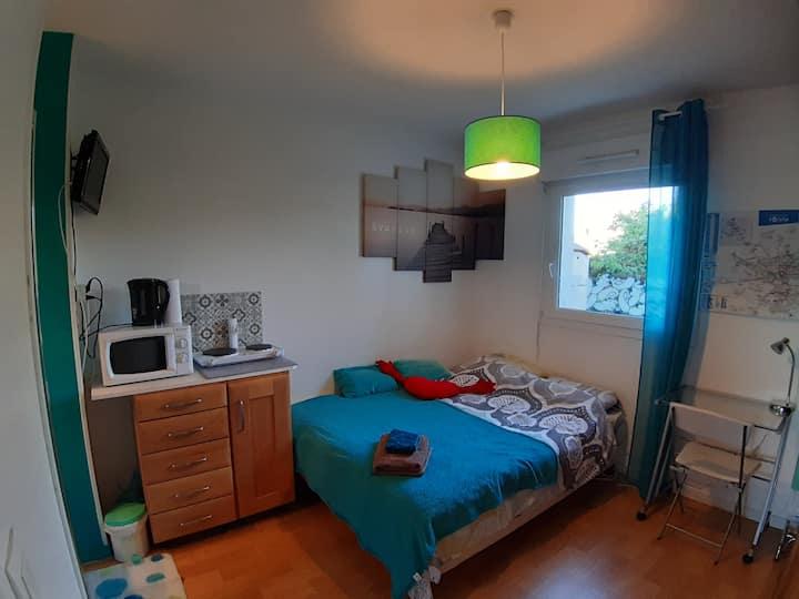 Chambre / studio ,   Giberville, 10 mn de CAEN