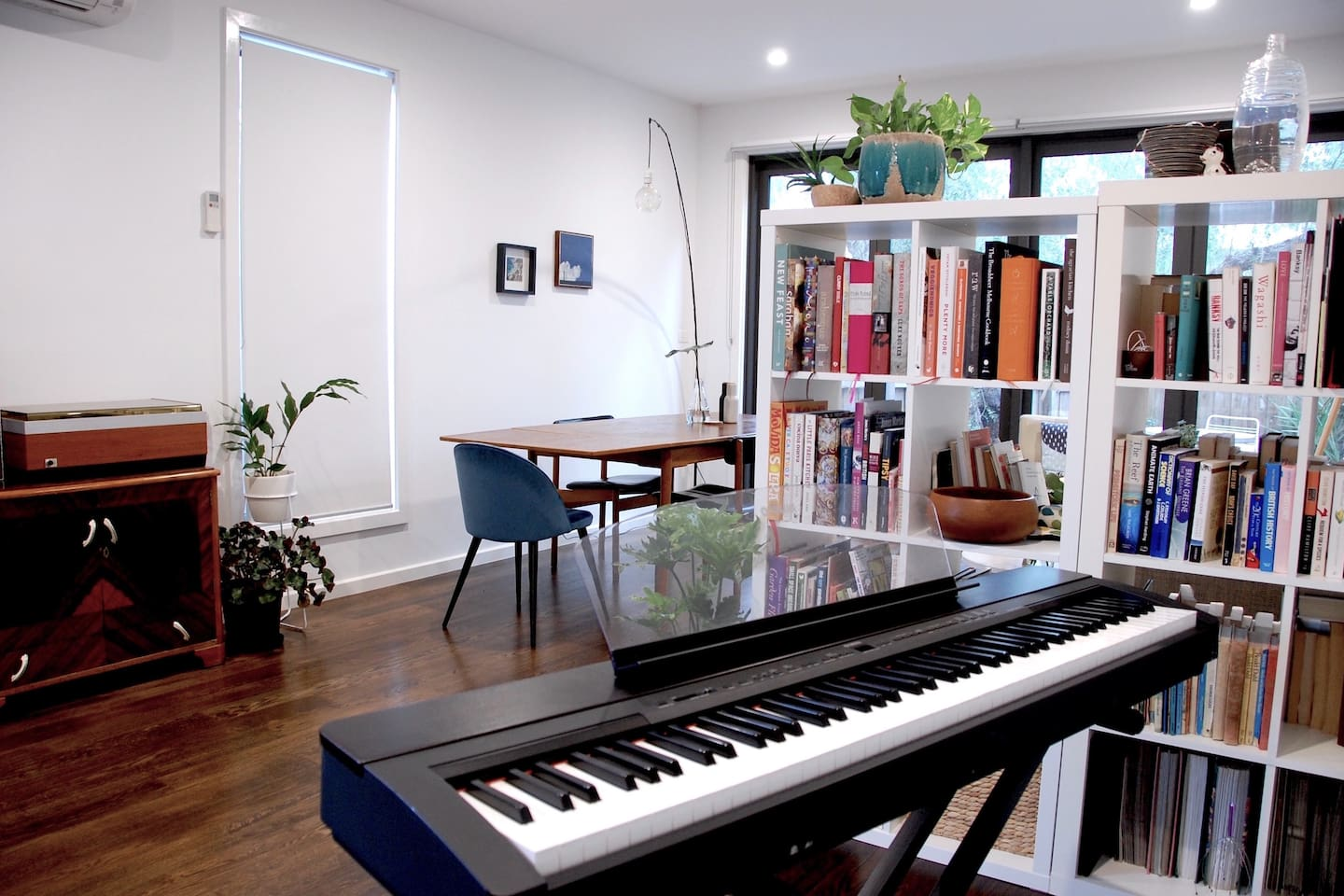 Creative & light filled home. Perfect for travellers or work trips.
