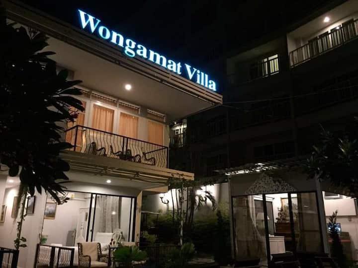 Wongamat Villa nearby beach