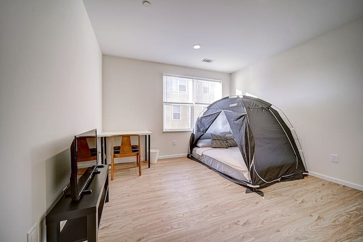 West Philly Bed Tent ♦ Workspace ♦ Rooftop Deck