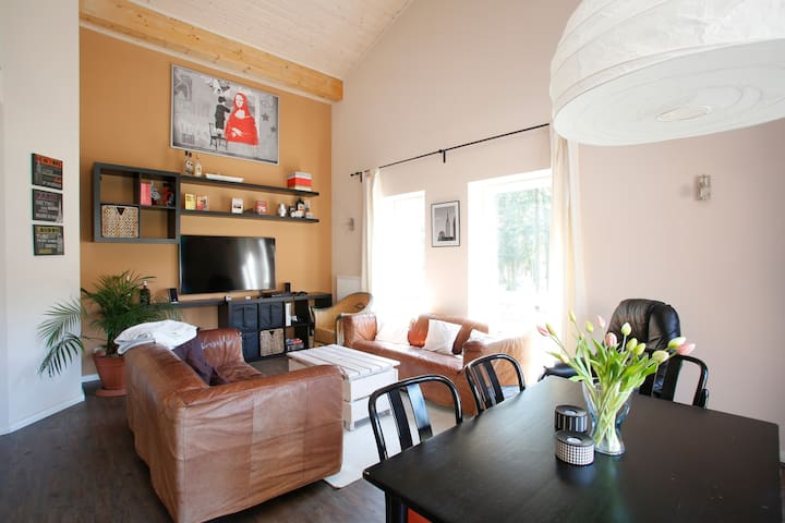 Great idyllic location, near University and center - Lüneburg - Appartement