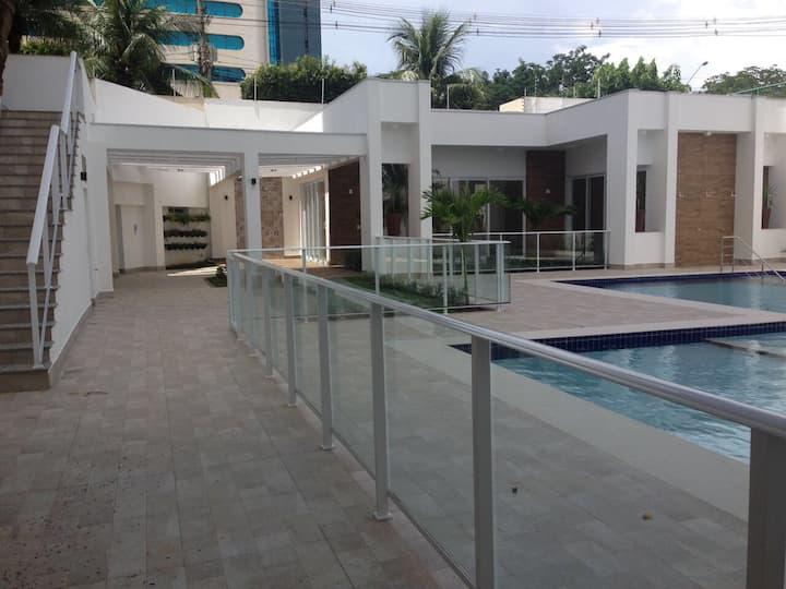 Aluga-se apartamento em Cuiabá mensal