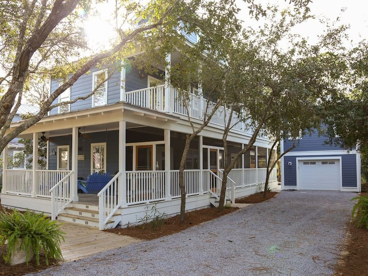 Blue Sky Bungalow - Brand New 4 Bedroom Listing in Grove by the Sea