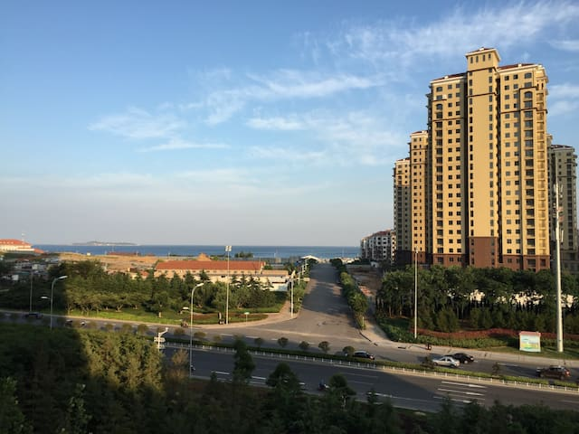 金沙滩海景公寓Qingdao  Sea View Apartment