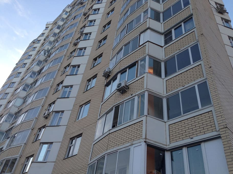 Вид на квартиру со двора