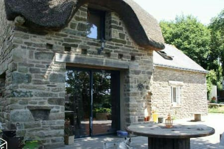 Maison écologique à la campagne - Moustoir-Ac - Casa