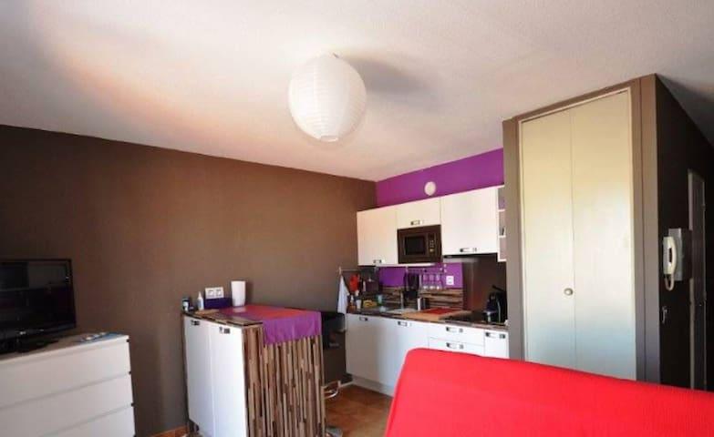 Studio 200m de la plage tout équipé - Fréjus - Apartament