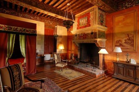 Chambre Renaissance XVIIeme siècle - Ménessaire - Slott