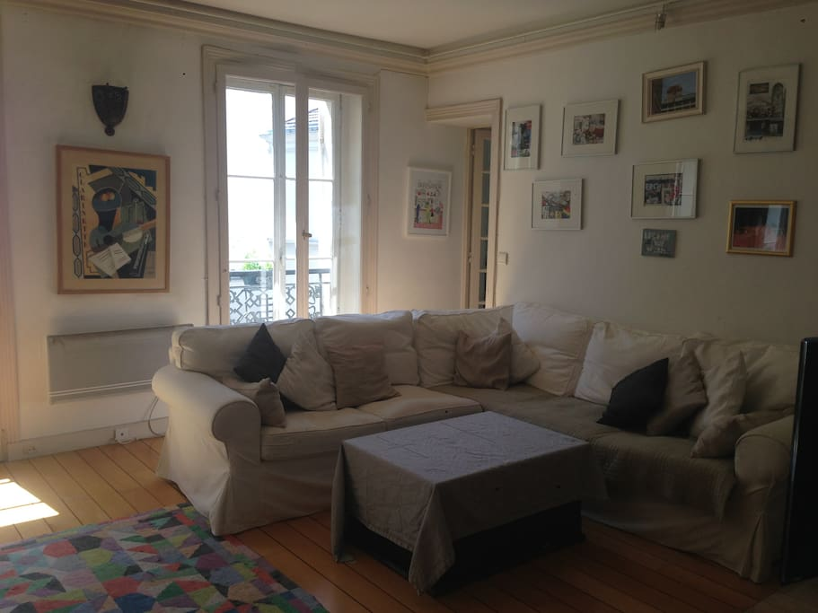 Parisian living room