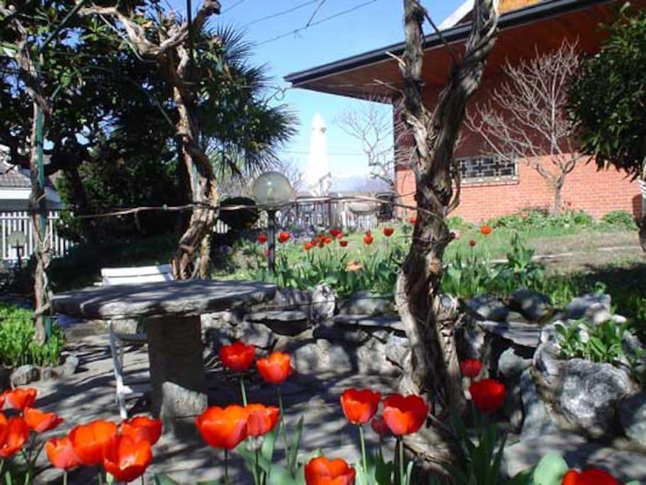 Il giardino in primavera