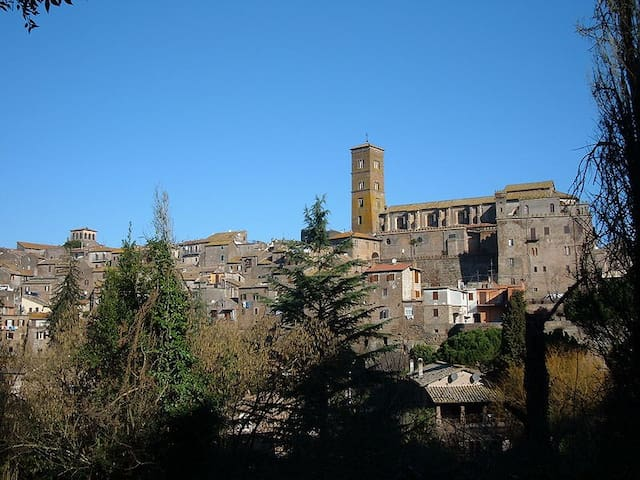 Ancient city of Sutri (RM) - Sutri - Apartamento