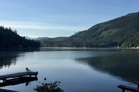 Privat ombygget bolig ved Cavanaugh-søen