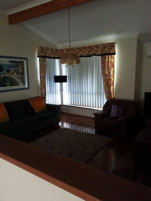 Spacious lounge -