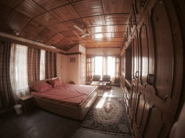 Spacious bedrooms finished with local taste!
