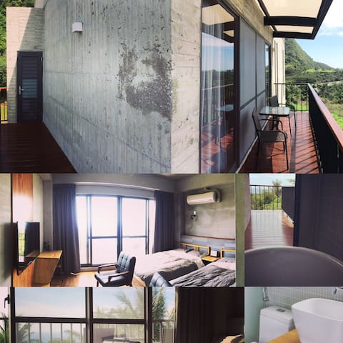好待goodstay3F海景4人房2double-bed room3F