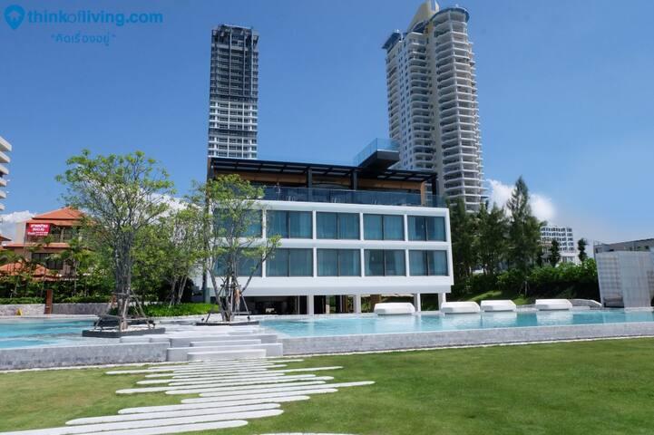 2BR Beachfront 19th Fl @ Veranda Residence Pattaya