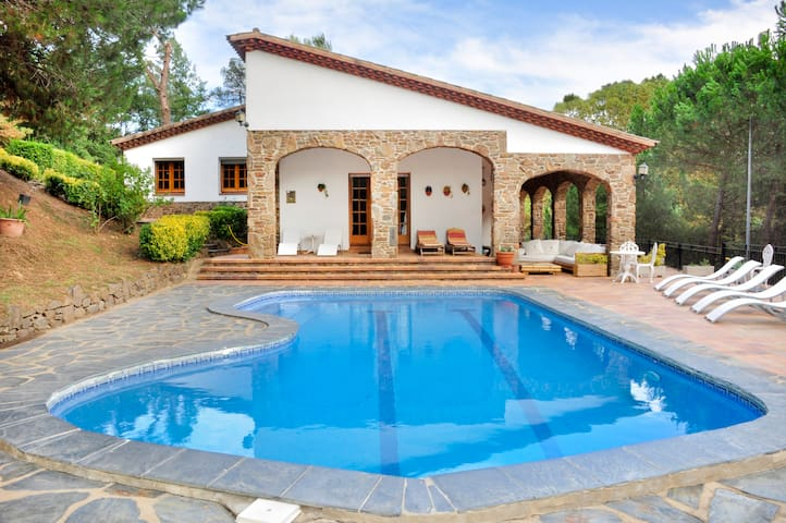 Beautiful house near to Barcelona - Gualba - Villa